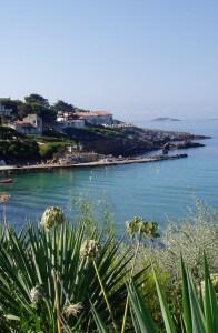 Provence coastline