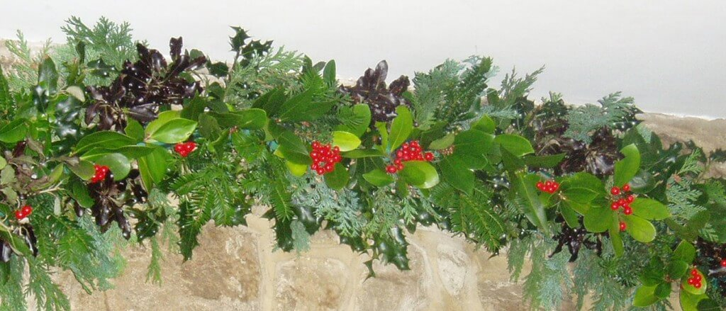 Foliage Christmas garland