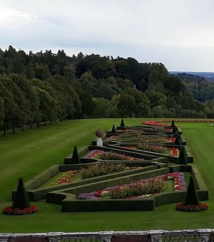 Parterre garden photo