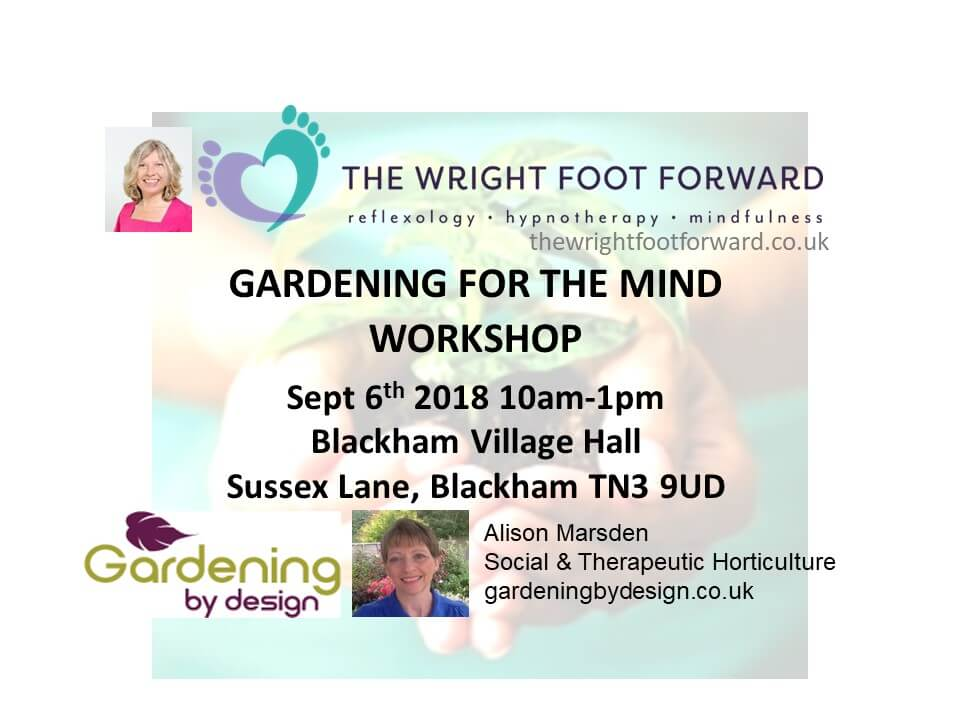 Gardening for the Mind Poster