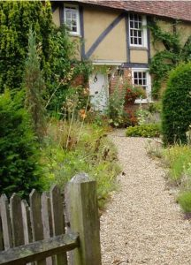 Cottage garden photo
